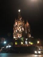 the church at night