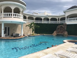 Our pool at Traveller's