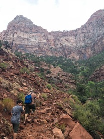 Hiking the Watchman Trail