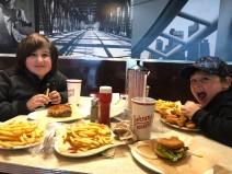 Free burgers!